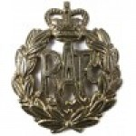 Royal Air Force E11R Brass Cap Badge